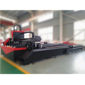 Stainless Steel Tube Fiber Laser Metal Pipe Cutting Machine