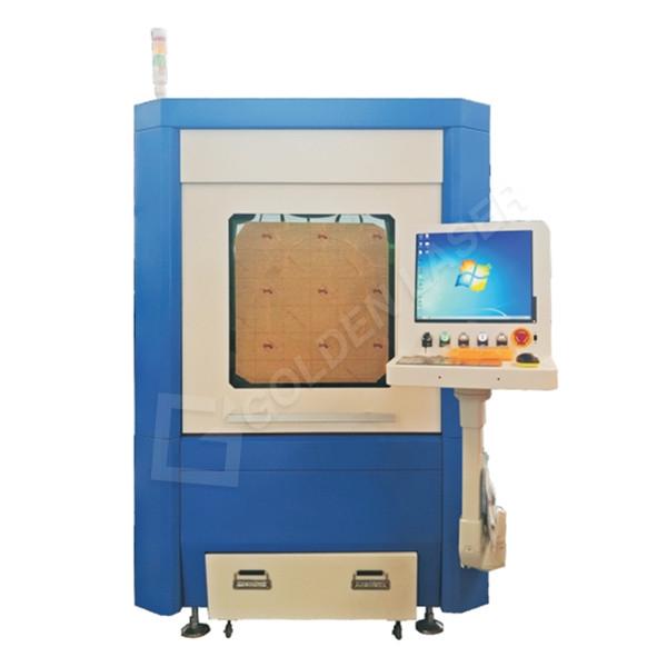 Small Size Mini Sheet Metal Fiber Laser Cutting Machine GF-6060 Featured Image