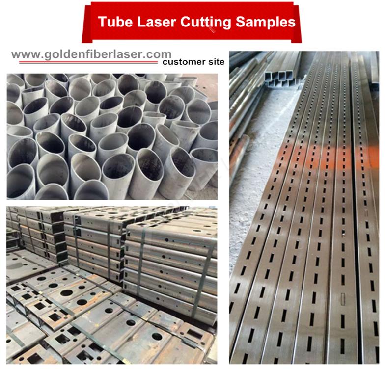 macchina di taglio laser tubo