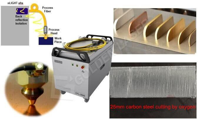 carbon steel fiber laser cutting machine