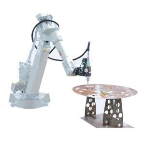 ABB Fiber Laser Robot Arm 3D Cutting Tabung / Pipa Untuk Auto Parts