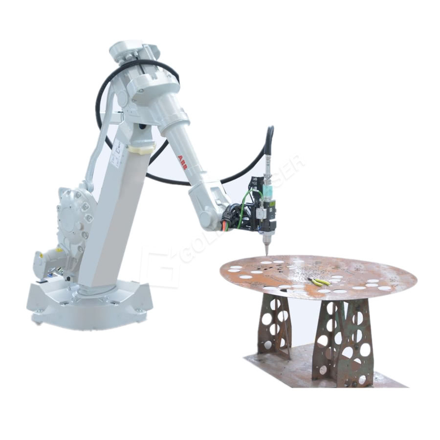 ABB Fiber Laser Robot Arm 3D Cutting Tube / Pipe For Auto Parts