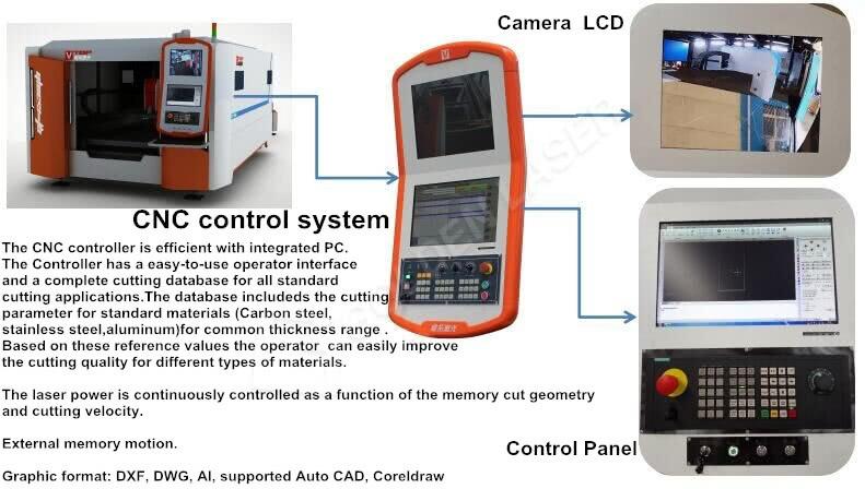 industrial laser cutting machine factory