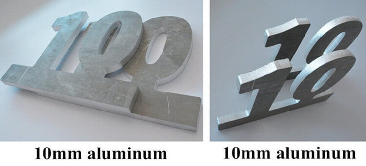 10mm aluminum sheet cutting machine