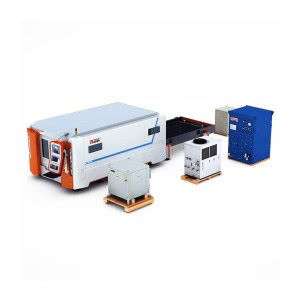 6000w 8000w Fiber Laser Sheet Cutting Machine