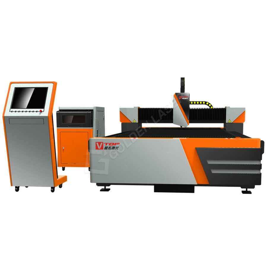 Open Type IPG / nLIGHT Fiber Laser Sheet Cutter GF-1530
