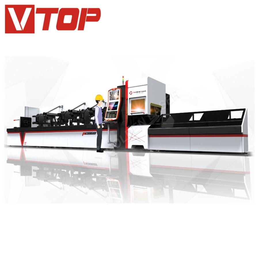Chinese Professional Steel Automatic Cutting Machine - 1000w Automatic bundle loader fiber laser pipe cutting machine – Vtop Fiber Laser