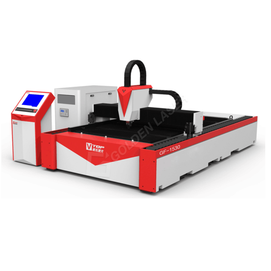 High Speed Single Mode Fiber Laser Metal Cutting Machine For Stainless/Carbon Steel
