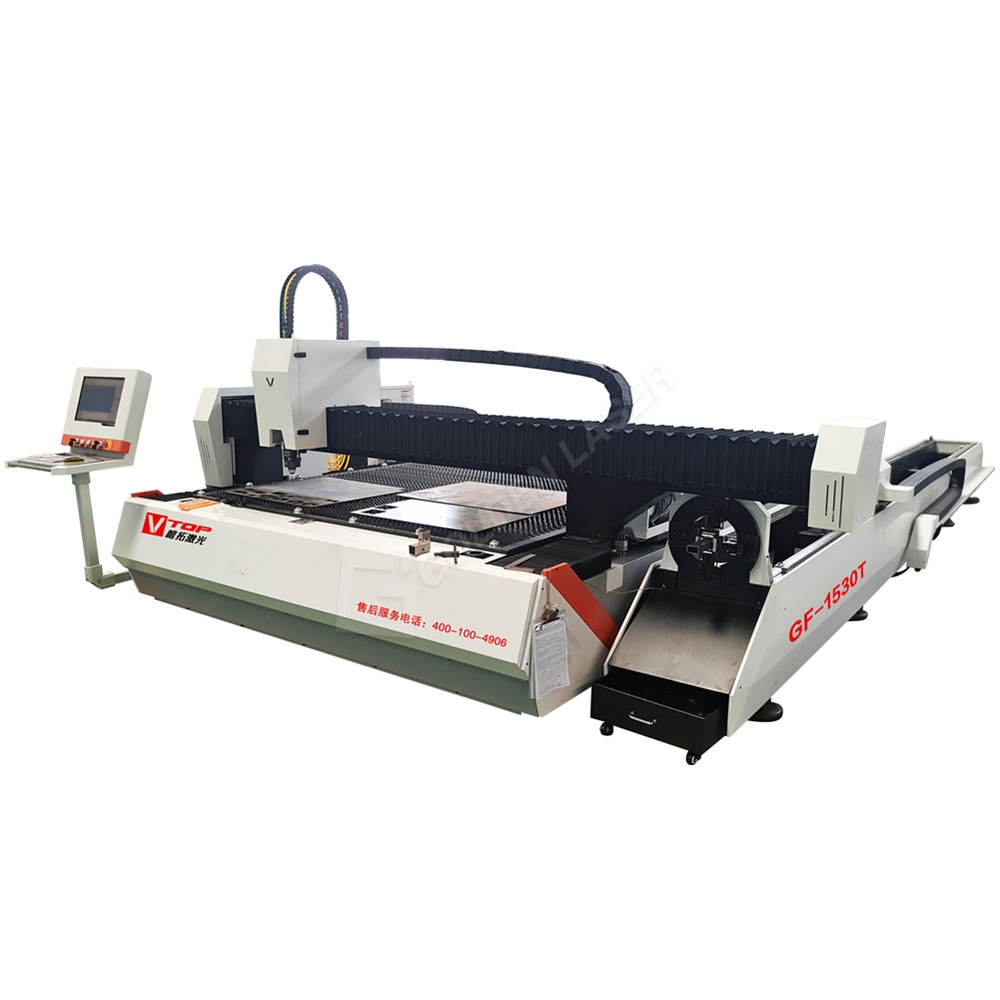 China New Product Laser Cutter Metal Machine - Dual function fiber laser sheet and tube cutting machine – Vtop Fiber Laser