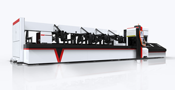 MS CS SS pipe and tube fiber laser cutting machine P3080 2000W