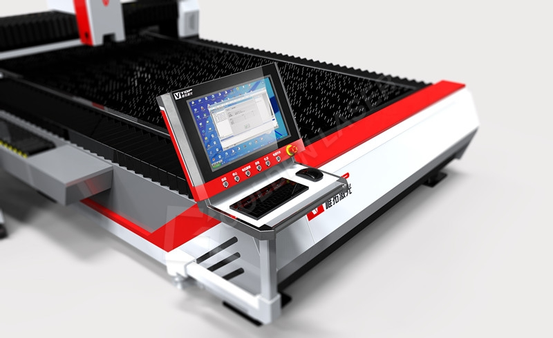 Factory Price For Tube Cutting Machine Suppliers - Open Type Fiber Laser Cutter For Stainless / Carbon steel / Aluminum / Brass – Vtop Fiber Laser