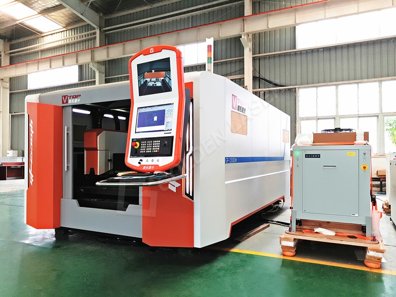 Best-Selling Stainless Steel Cutting - 4000W Enclosed Pallet Table Fiber Laser Cutting Machine GF-1530JH For Stainless / Carbon Steel – Vtop Fiber Laser