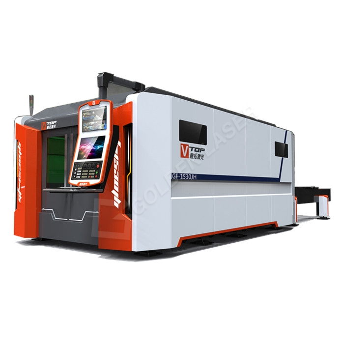 Bottom price Laser Cutter For Cardboard - 6000w High Power High Speed Exchange Table Fiber Laser Cutting Machine For Stainless/Carbon Steel And Aluminum/Galvanized Metal Sheets – Vtop Fiber ...
