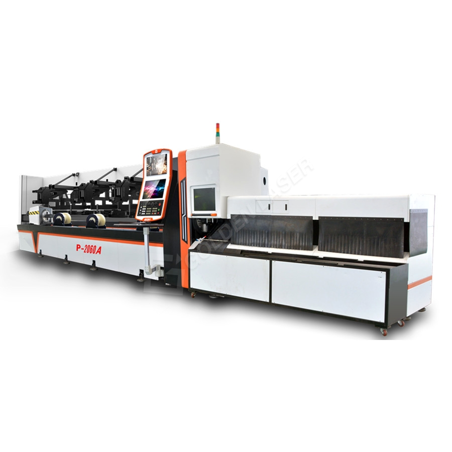 China Gold Supplier for Fiber Laser Cutting Machine Cut Pipe - Fully Automotic Fiber Laser Pipe / Tube Cutting Machine P2060A – Vtop Fiber Laser