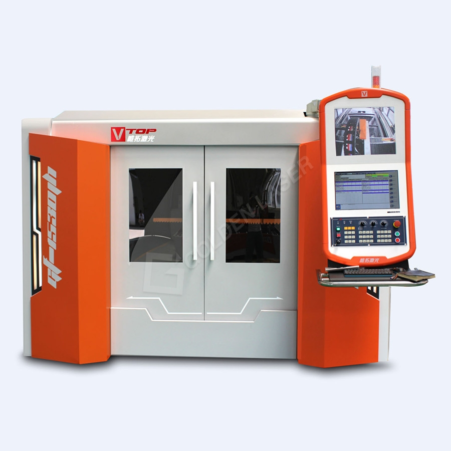 6000w Whole Cover Fiber Laser Cutting Machine GF-2560JH With BECKHOOF Controller