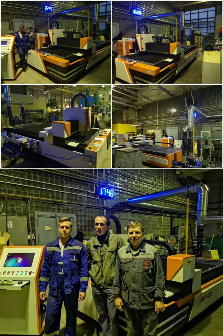 fiber laser 1kw cutting