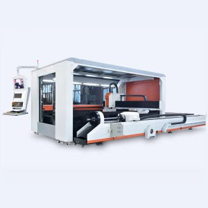 CNC fiber laser 1000w stainless steel pipe sheet cutting machine