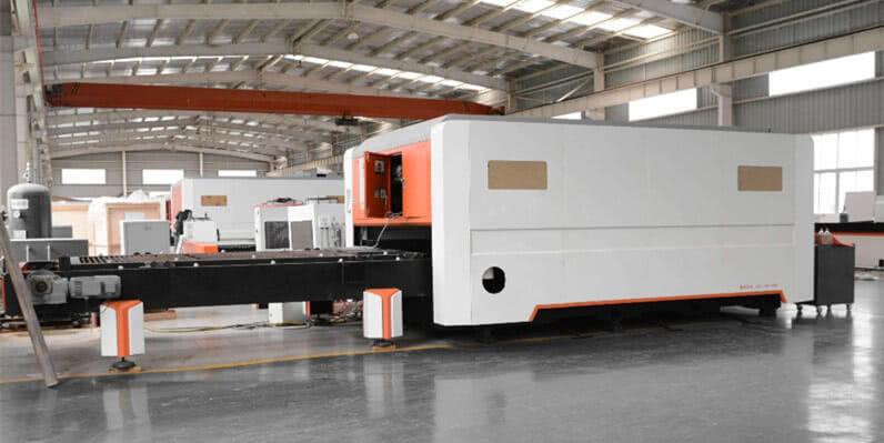 4kw fiber laser cutter