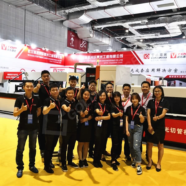 Golden Vtop Laser Attended Shanghai International Furniture Machinery & Woodworking Machinery Fair