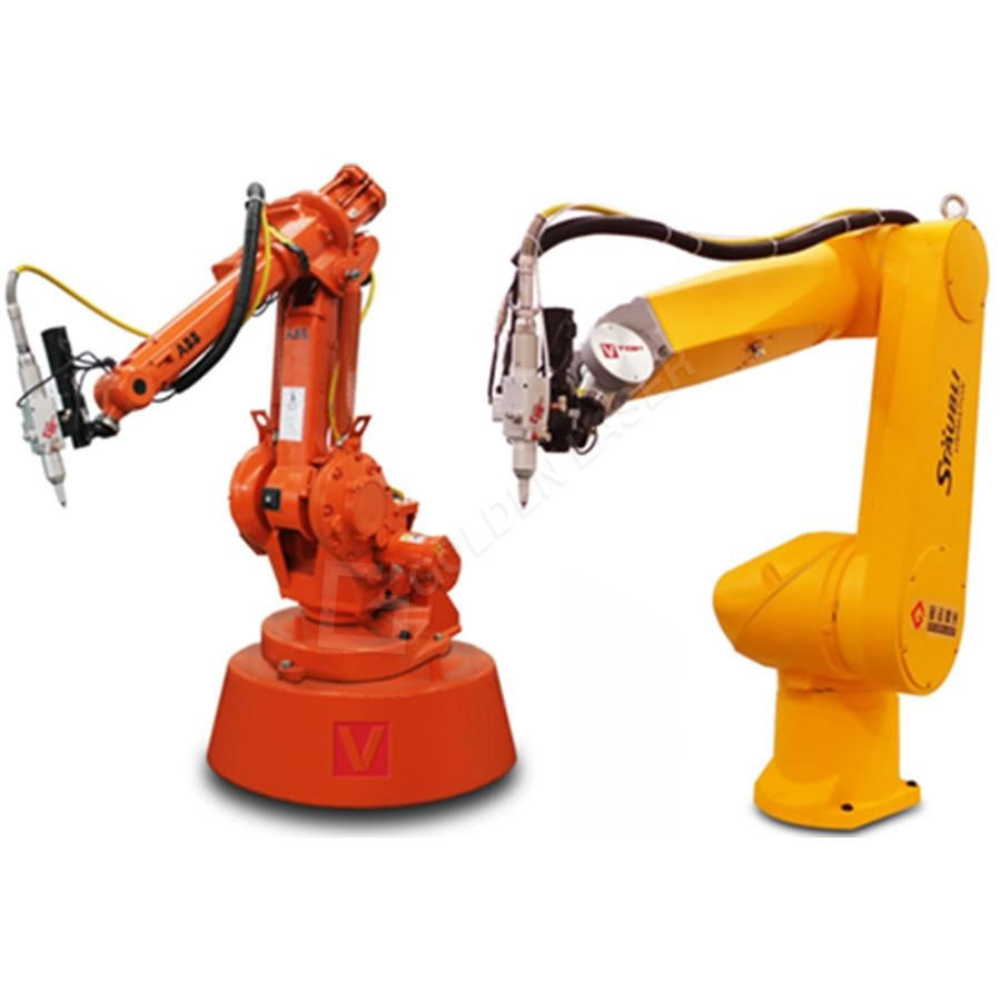 Robot Arm Fiber Laser 3D Cutting Machine