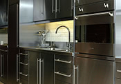 Metal Cabinets Kitchen