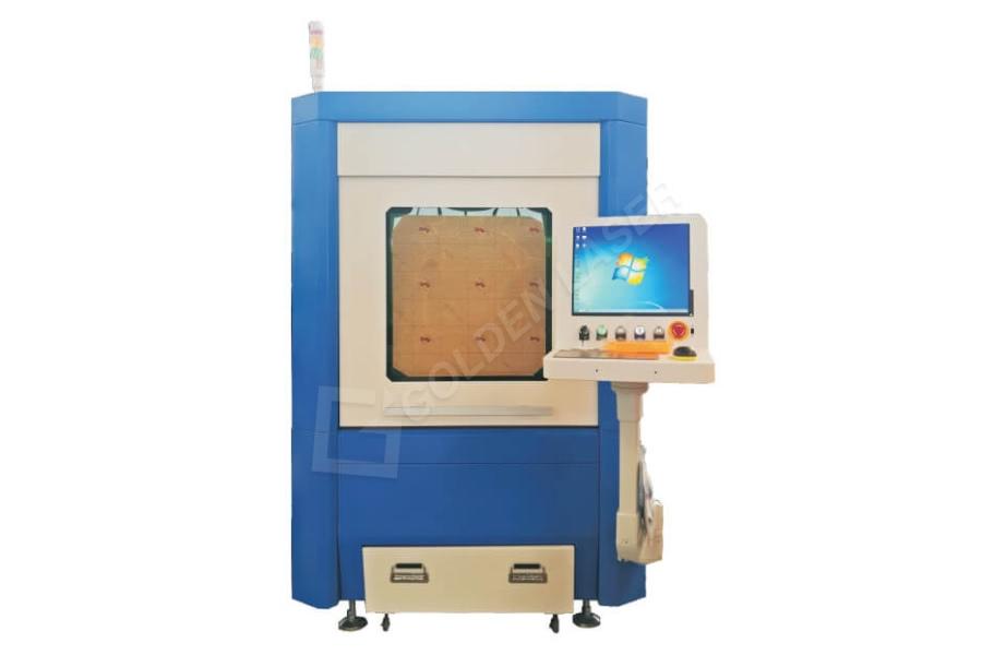 Small Size Mini Sheet Metal Fiber Laser Cutting Machine GF-6060