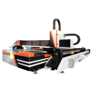 2000w Stainless Steel Sheet Tube Fiber Laser Metal Pipe Cutting Machine