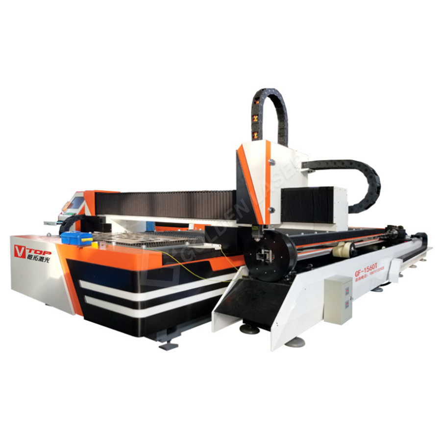2000w Stainless Steel Sheet Tube Fiber Laser Metal Pipe Cutting Machine Featured Image
