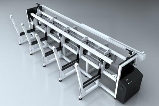 Auto-feeder-of-Tube-laser-cutting-machine