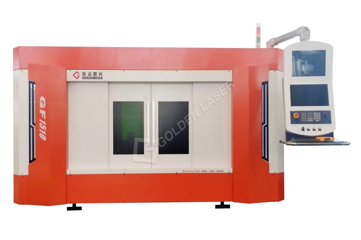 Stroj za lasersko rezanje kovinskih pločevin srednjega območja