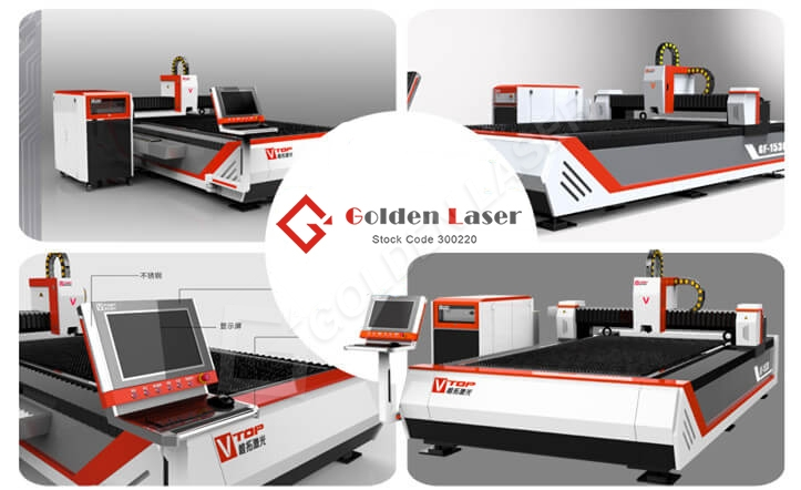 GF-1530 fiber laser cutting machine golden laser
