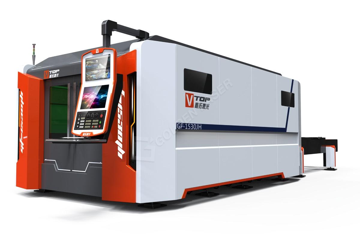 3000W stroj za lasersko rezanje vlaken iz nerjavečega ogljika