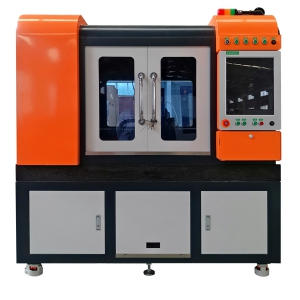 linear motor type laser cutting machine model No. GF-6060