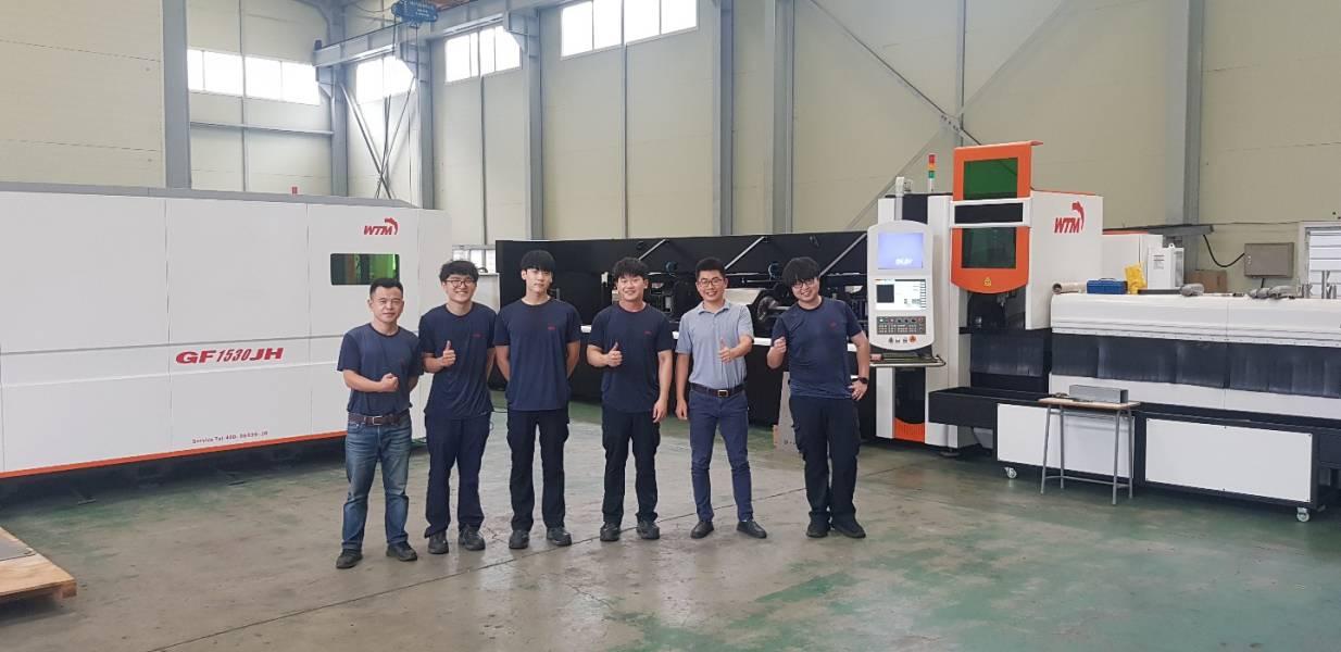 Golden Laser team member in Korea