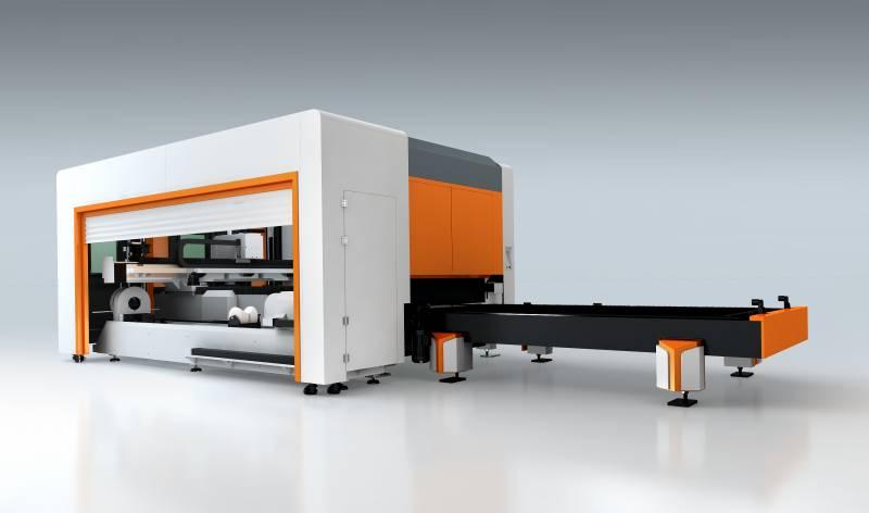 Meta sheet and tube laser cutting machine 3meter tube