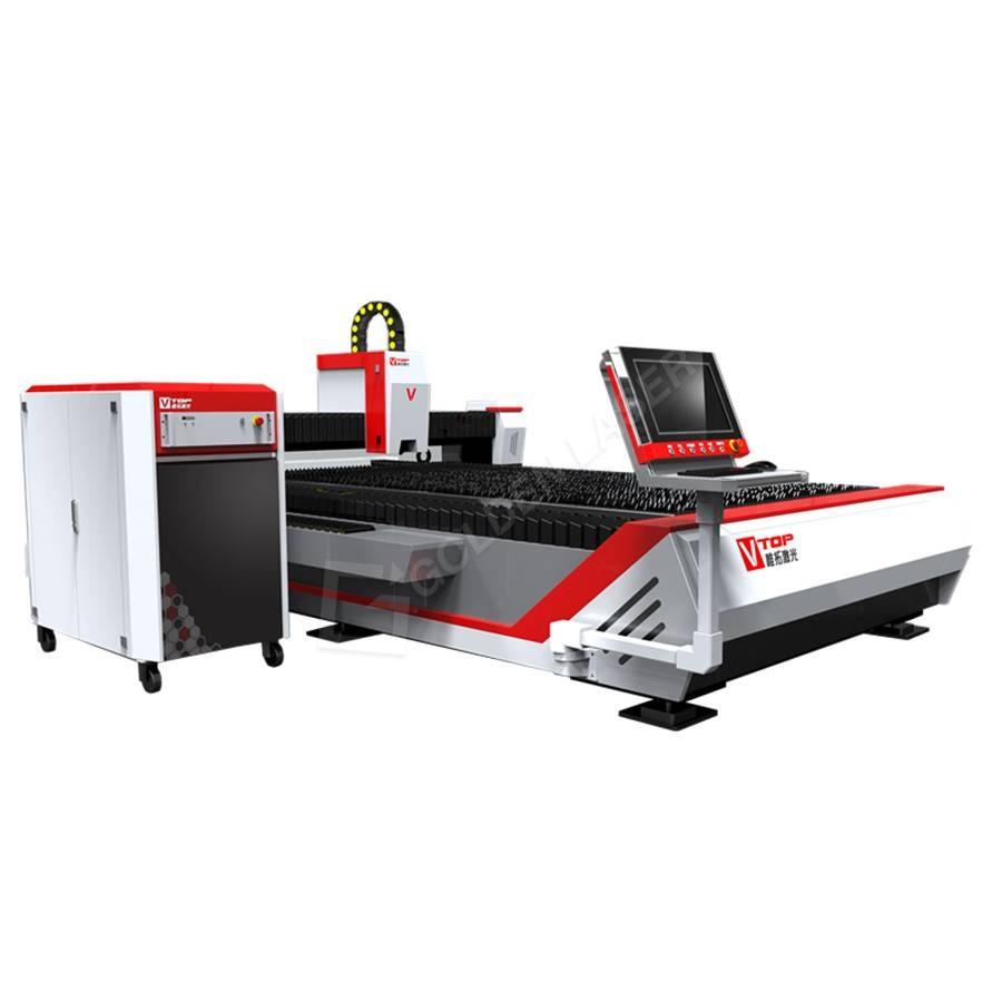 Open type fiber laser cutting machine