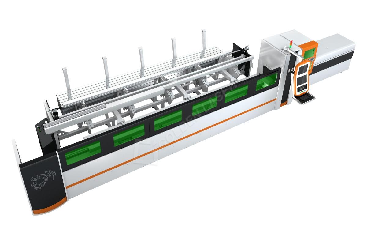 Stroj za avtomatsko lasersko rezanje majhnih cevi