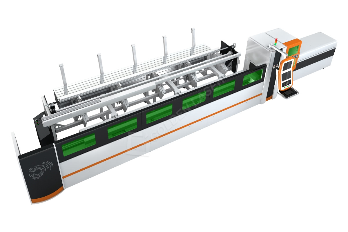 Small Tube Automatic Laser Cutting Machine