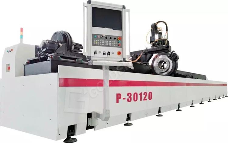 12m laser pipe cutting machine
