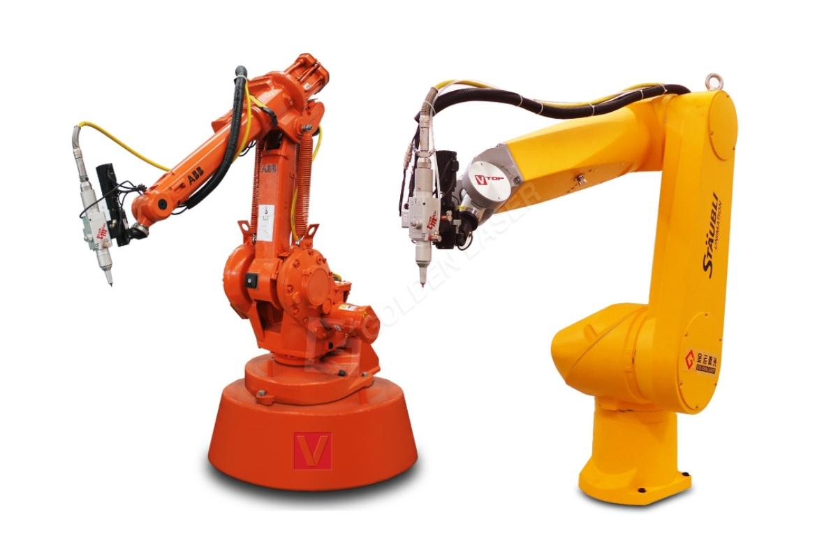 Roboterarm Faser-Laser-3D-Schneidemaschine
