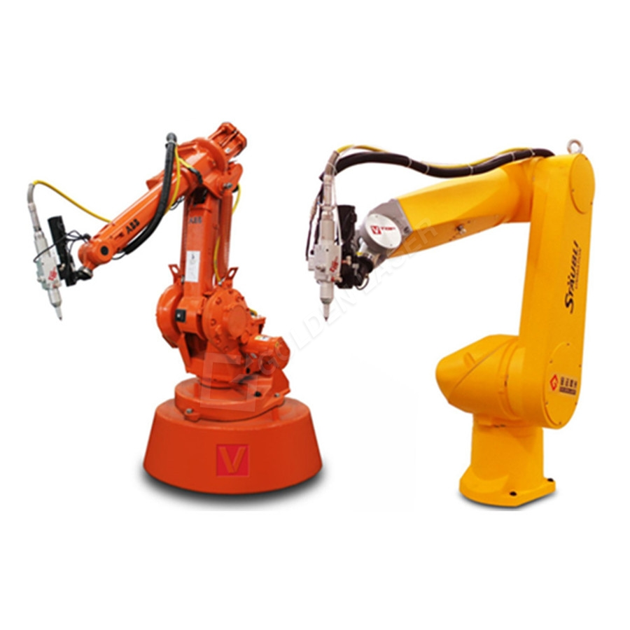 Robotic Arm Fiber Laser 3D Prerje Machine