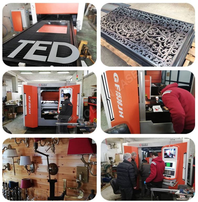 fiber laser sheet cutting machine price