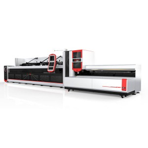1500W 2500W plotësisht automatike Bundle Loader Fiber Laser Cutting Machine Tube