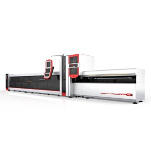 3000w Cnc Vesel Laser Round Square Reghoekige Tube / Pipe Laser Cutter