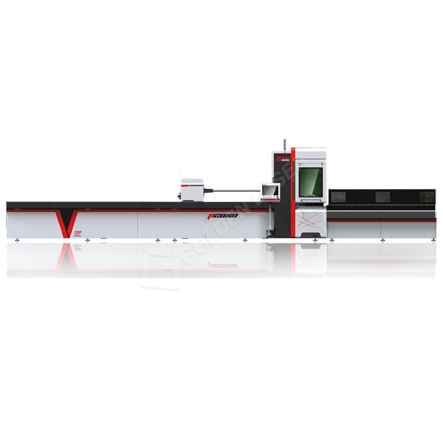 Reasonable price Laser Cutting Machine Wood - Semi Automatic Stainless Steel Metal Tube Pipe CNC Fiber Laser Cutter – Vtop Fiber Laser