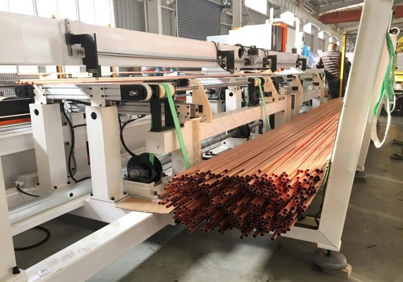 copper tube cutting