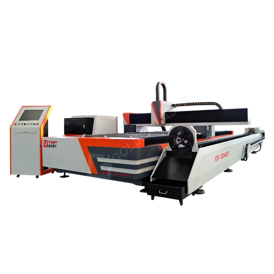 3000w Dual Function Fiber Laser Metal Sheet And Tube Cutting Machine