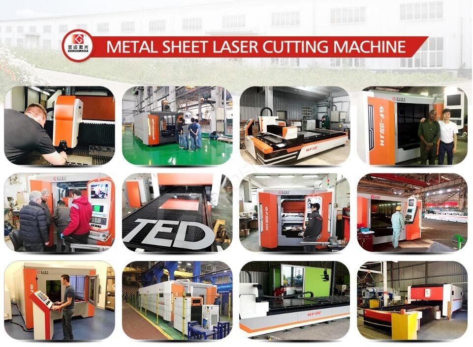 fiber laser cutting machine for metal sheet