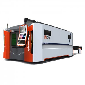 2500W Stainless Carbon Steel Sheet Fiber Laser Cutting Machine