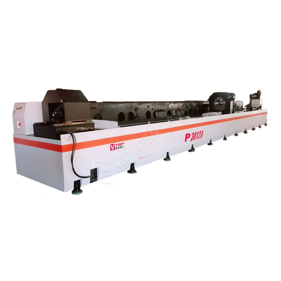 12m Length Stainless Steel Metal Pipe Tube Laser Cutting Machine P30120 Featured Image